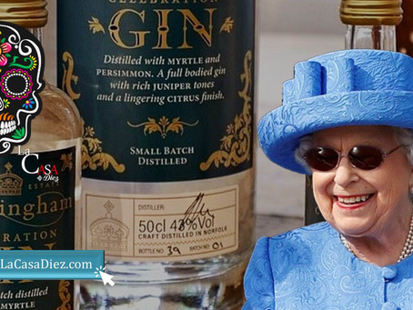 La Reina Isabel II, lanza al mercado su propia marca de Ginebra Sandringham