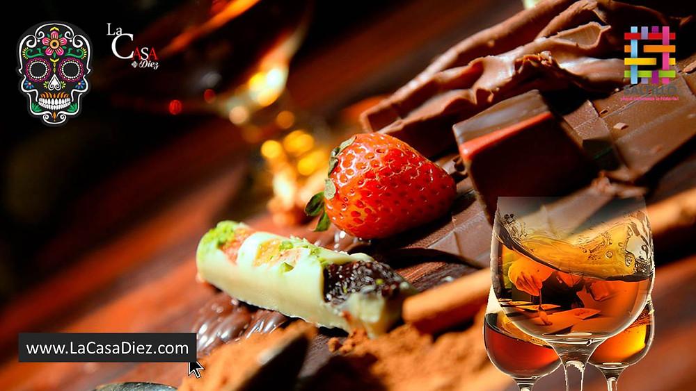 Maridajes con Chocolate