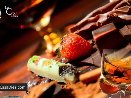 Maridajes con Chocolate, un Placer difícil de evitar.