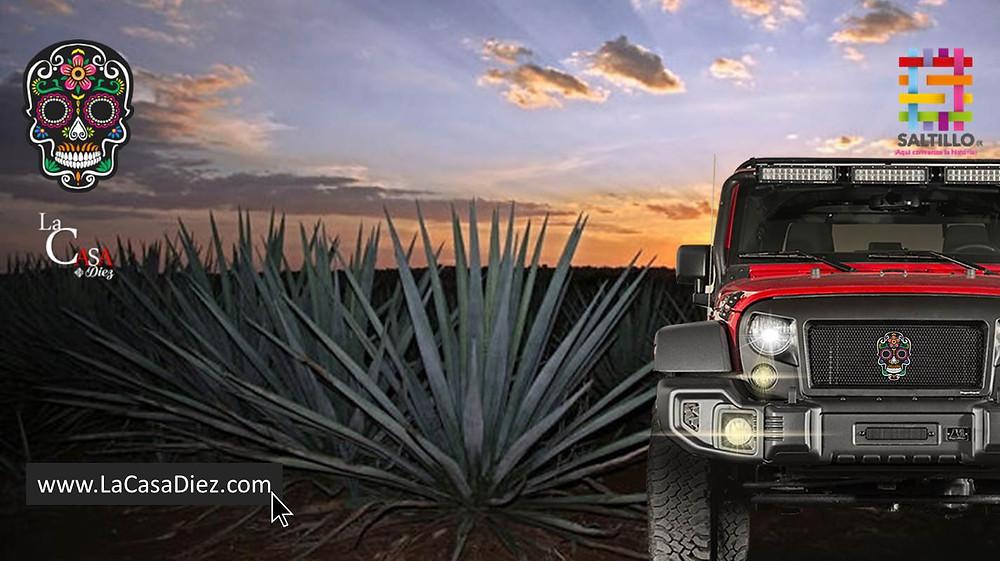 """Vehículos todo terreno """"Ruta del Mezcal"""""""