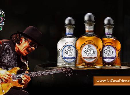 TEQUILA CASA NOBLE, el destilado orgánico de Carlos Santana.