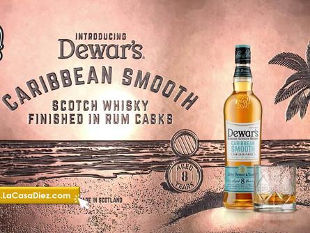 CARIBBEAN SMOOTH, un destilado tropical de la Marca Dewar's