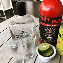 Artisian Sangrita and Don Julio 70