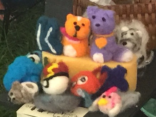 Creative Cute or Creepy Dry Felted Creatures