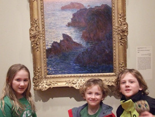Don't Be Afraid of the Art Museum- Steps to take so they have a great time!
