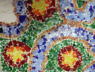 Stained Glass on Recycled Windows - One of my Dreams is Coming True