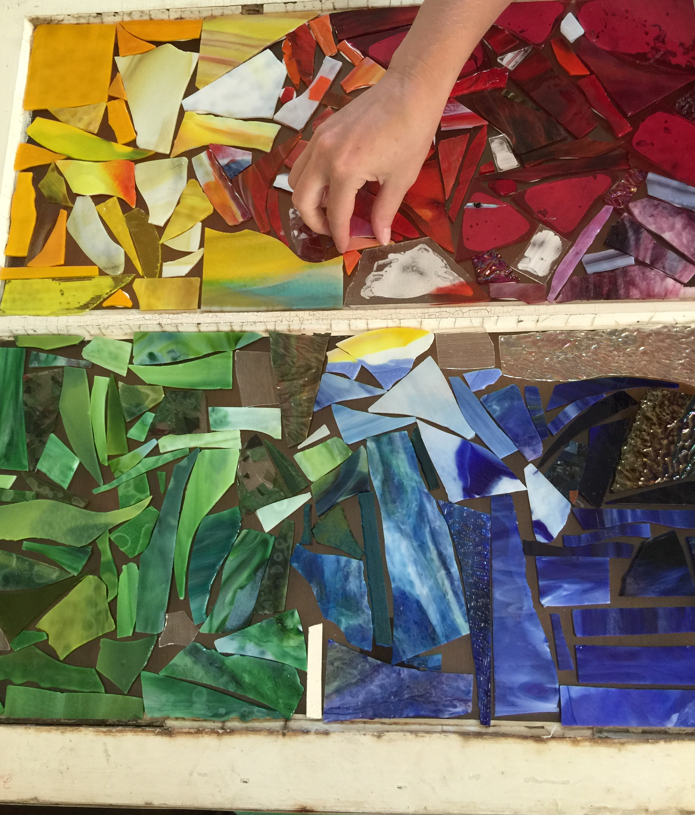 Stained Glass Reclaimed Window