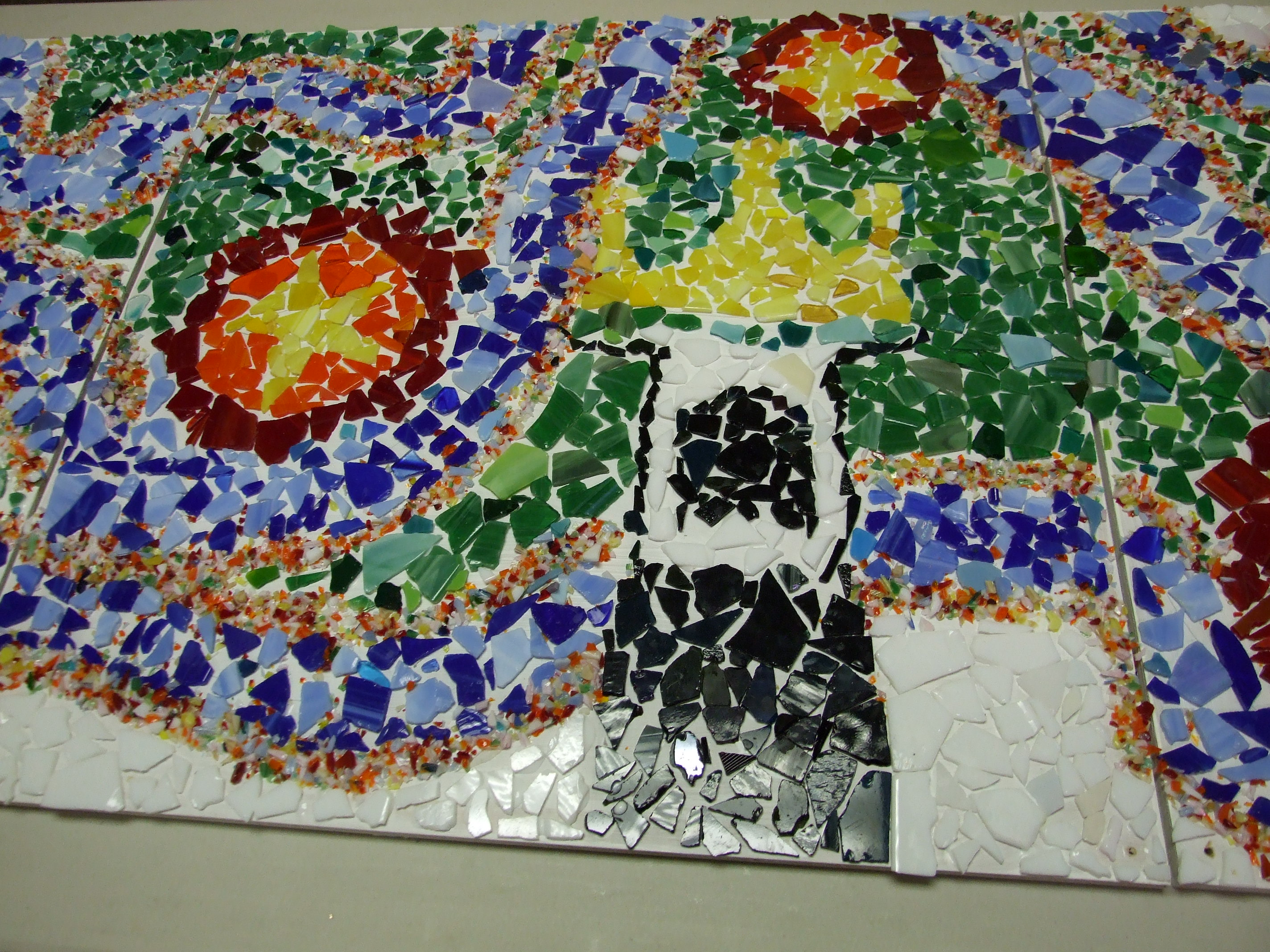 Glass Mosaic at VBS