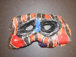 Plaster Racoon Mask