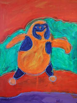 Acrylic Penguin