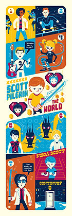 Dave Perillo's Scott Pilgrim Saves The World
