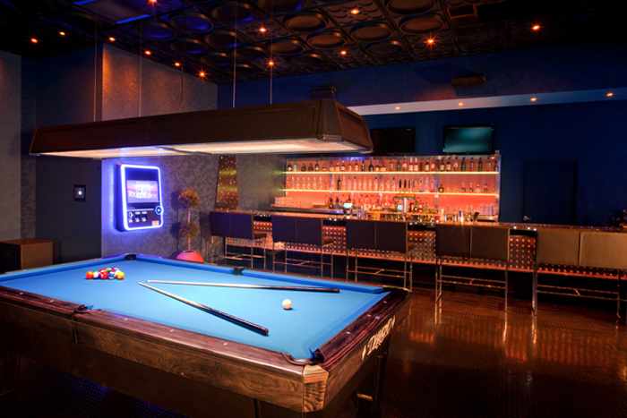 Digital jukebox and pool table