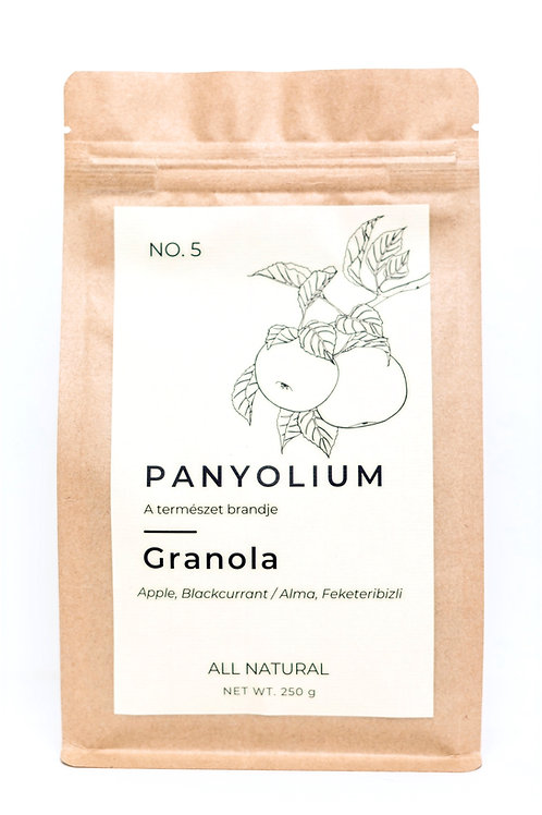 Granola No. 5 Alma, Feketeribizli -250g