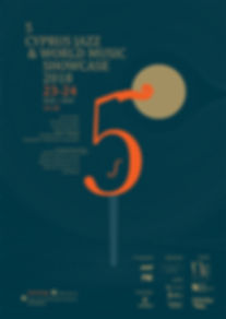 Cyprus jazz showcase-A3 Poster-pantone-p