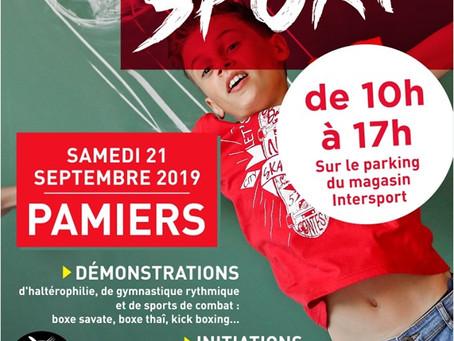 Le TT Critourien sera présent à Intersport le samedi 21/09/2019