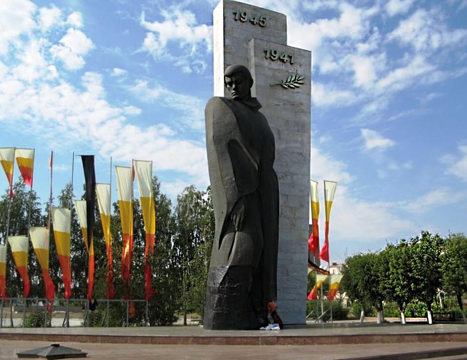 Памятник неизвестному солдату в Темиртау