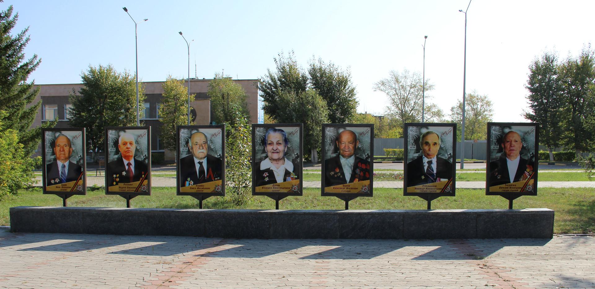 Памятник «Монумент Победы» в Степногорске