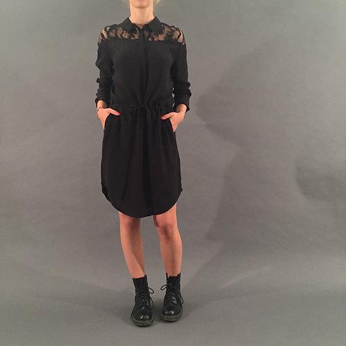Kleid  mit Spitzeneinsatz, mbyM, Gr. S, neu
