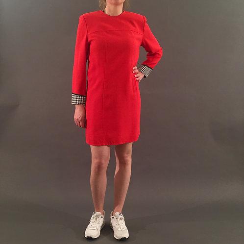 Vintage Kleid Lipstick Red