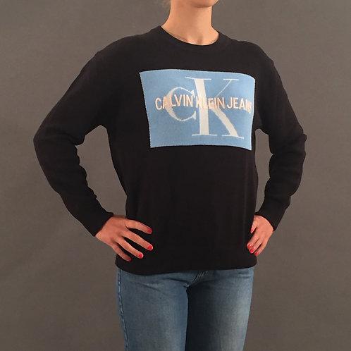Strickpullover Calvin Klein blau