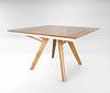 שולחן אול נפתח מעץ