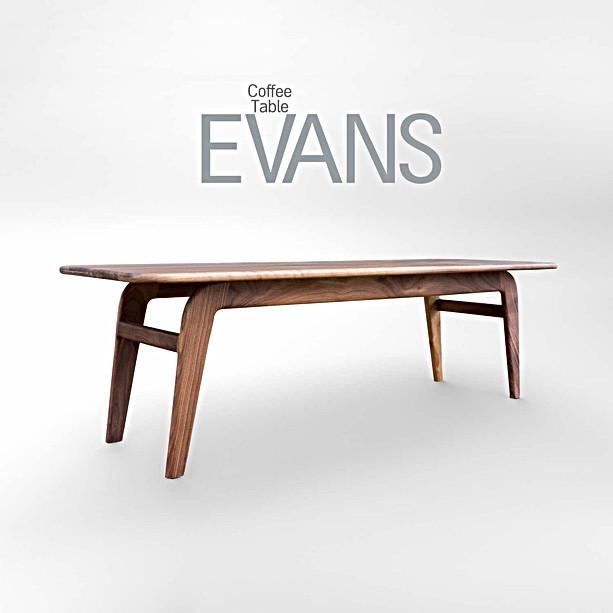 שולחן סלון EVANS