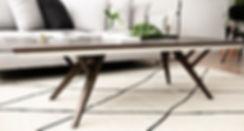 שולחן סלון בעיצוב נורדי