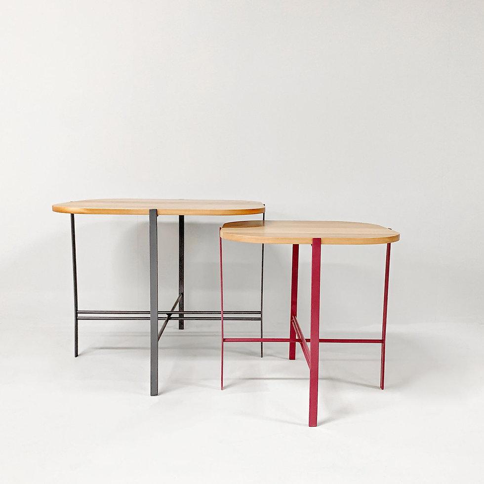 שולחן לסלון מברזל