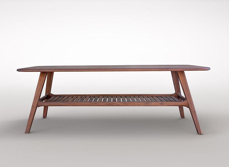 שולחן סלון סקנדיבי מעץ