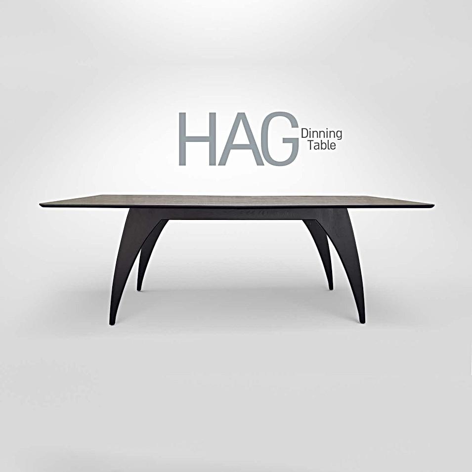 HAG שולחן אוכל נפתח