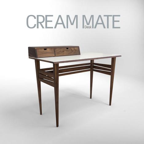 CREAM MATE שולחן כתיבה