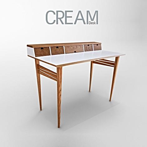 CREAM שולחן כתיבה