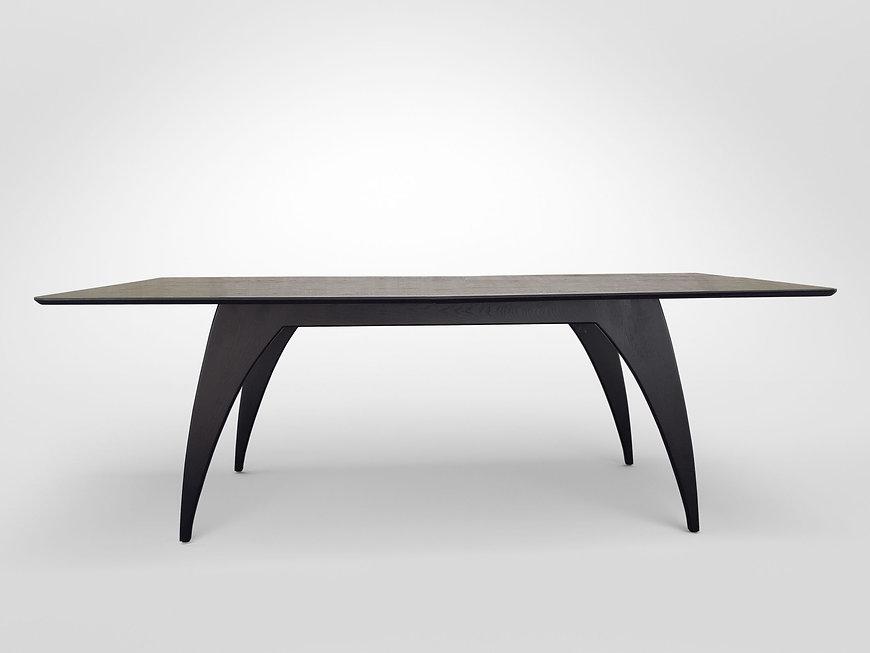 שולחן אוכל מודרני נפתח