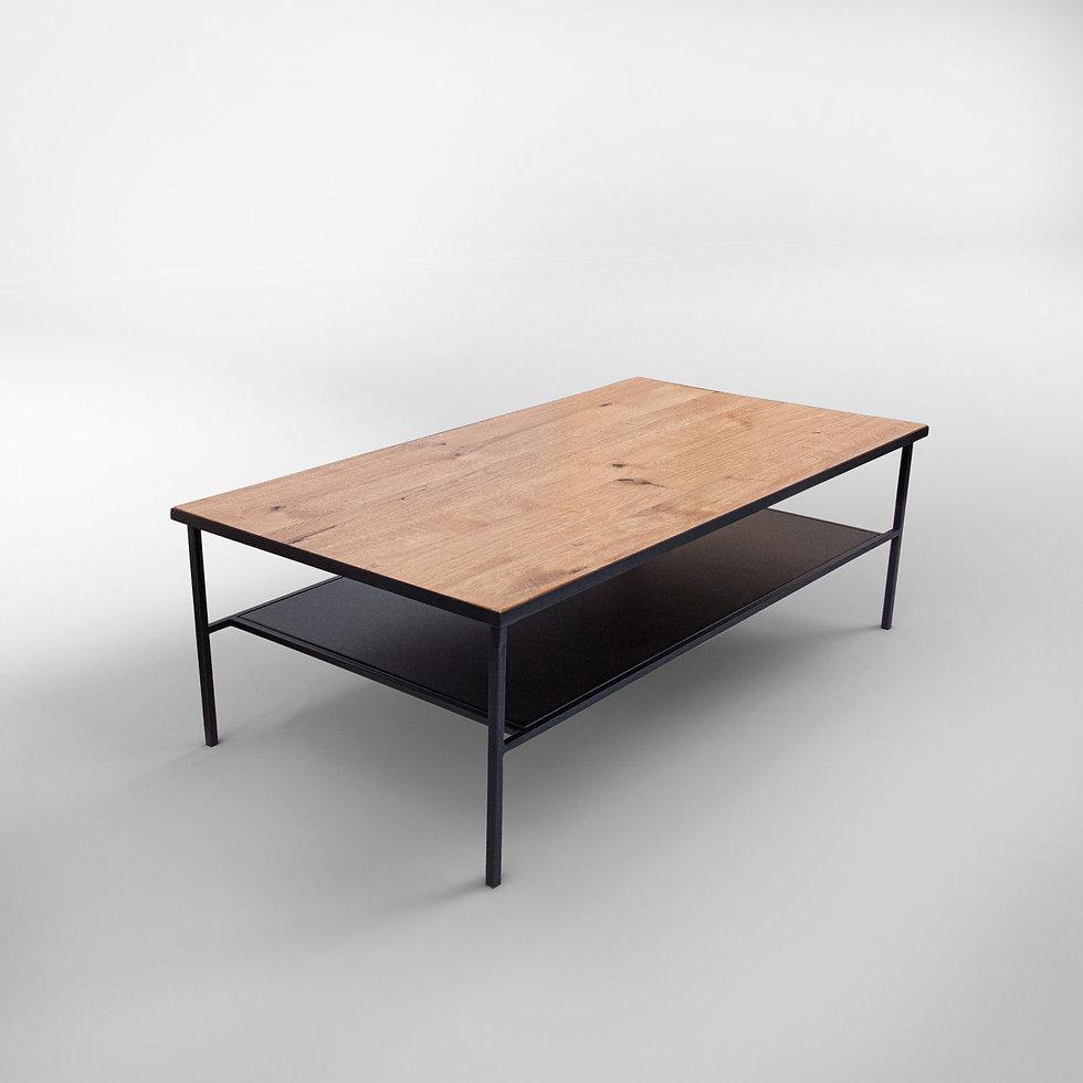 שולחן שחור לסלון