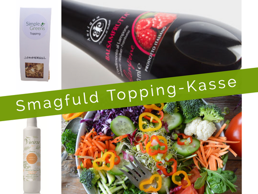 Smagfuld Topping-Kasse