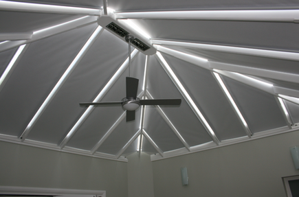 Grovewood blinds - self supporting conservatory blinds - full closure