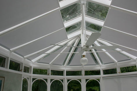 Grovewood Conservatory Blinds