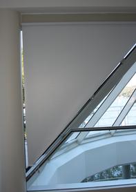 Grovewood blinds - triangular blind for irregular window