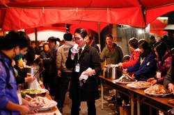 與「人生百味」以及「好管家」共同主辦的「日光呷百味」與社區共煮共食活動