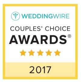 We are Celebrating the Couples Choice Award - 4 Years in a Row!