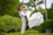 bride on maui