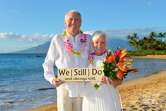 Maui Vow Renewal Ceremony