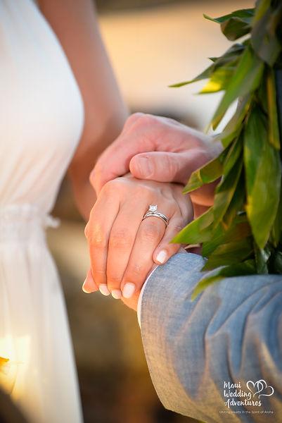 maui wedding ring