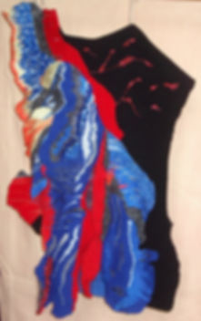 Kilauea, tapisserie haute lisse