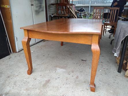 Restored Silky Oak table by Vic & Allen.