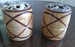 Celtic Knot Potpourri containers  by All