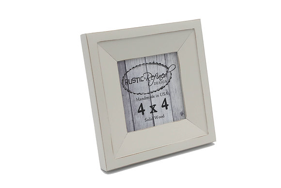 4x4 Haven picture frame - Off White