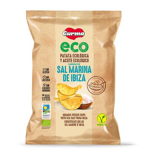 Gurma Organic Potato Chips Sal de Ibiza