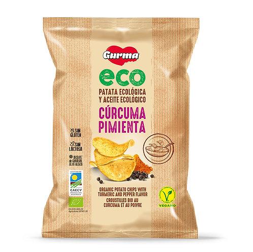 Gurma Organic Potato Chips Turmeric & Pepper