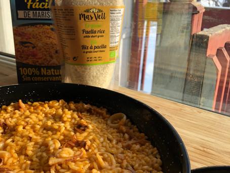 """3-ingredient rice """"a banda"""""""